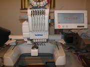 вышивальная машина brother-600-2 ( бу )