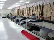 Действующая швейномеховая фабрика